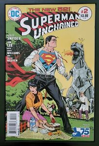 Superman-Unchained-2-Victor-Ibanez-Bronze-Age-1-50-Ratio-Variant-NM-9-6