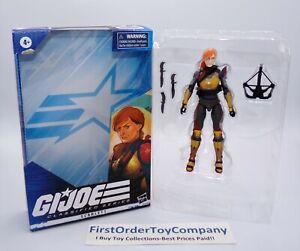GI Joe Classified Scarlett Figure COMPLETE w/ Box