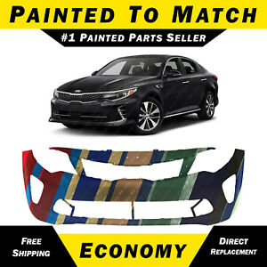 BUMPERS THAT DELIVER Painted to Match Front Bumper Cover Fascia for 2016 2017 2018 Kia Optima SX SXL 16 17 18 KI1000183