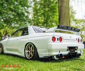 Rear Diffuser Undertray For Nissan Skyline R32 Racing Performance