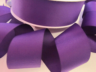 "5 yards Lavender Purple Polka Dots Grosgrain 1.5/"" 38mm Wide Ribbon//Craft R20-N"