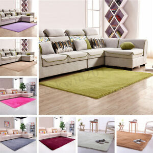 Grande-120x160cm-antiscivolo-Shaggy-lanuginoso-Area-tappeto-Home-Bedroom-Carpet