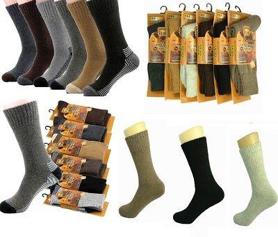 Mens Chunky Diabetic Ultimate Work Socks 3 Pairs Boot Socks Size UK 11-14 /& 6-11