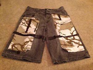 40 Cargo Shorts Jeans Francois Army Marithe Mens Camo Khaki Girbaud Camouflage gnIxzC8qRw