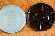 "Super 8mm Metal Film Reel 5"" 200' in K-Mart Metal Canister"