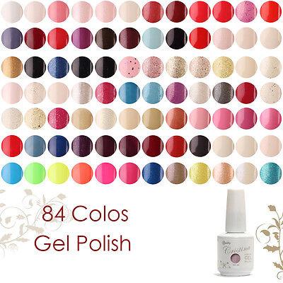 Hot Sale 84 Colors Soak Off UV Gel Polish Long-lasting Cristina 15ml Nail Polish