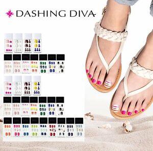 New Dashing Diva Foot Toe Pedicure Accessories Gel Nail Art Polish