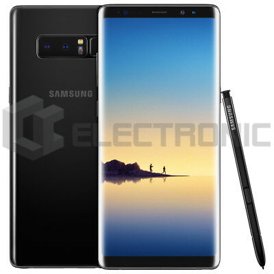 Cupón PMOVILES10 Samsung Galaxy Note 8 Dual SIM 128GB Unlocked - Black Negro