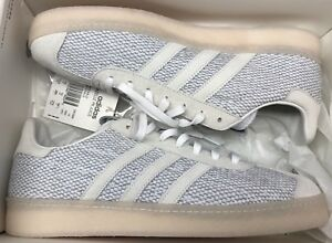 reputable site e05aa 5f0f3 Image is loading adidas-Consortium-Gazelle-PK-Juice-Primeknit-White-Black-