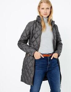 M/&S Womens LIGHTWEIGHT  Stormwear PADDED QUILTED Jacket Size 8