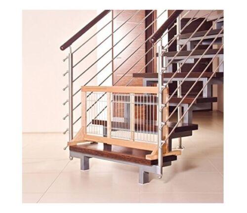 Trixie Hunde-Absperrgitter für Treppen Türen 63-108 x 50 x 31 cm Türschutzgitter