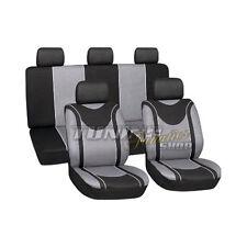 Sitzbezug Sitzbezüge Schonbezüge Bezug Schwarz-Grau #5 für Toyota Mazda Nissan