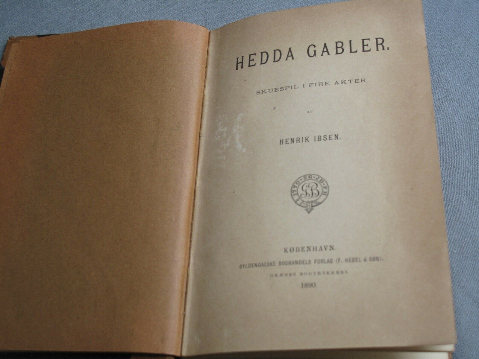 Hedda Gabler, Ibsen, Henrik – dba.dk – Køb og Salg af Nyt og Brugt