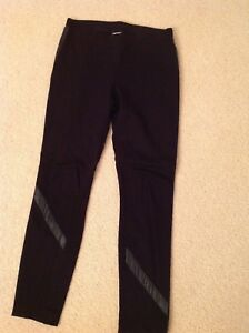 Dkny Leather Pantalons Trimers Leather Leggings Trimers Dkny Leather Trimers Dkny Pantalons Leggings XXZqwx10