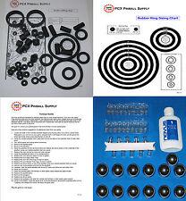 1995 Sega Apollo 13 Pinball Machine Tune-up Kit - Includes Rubber Rings!