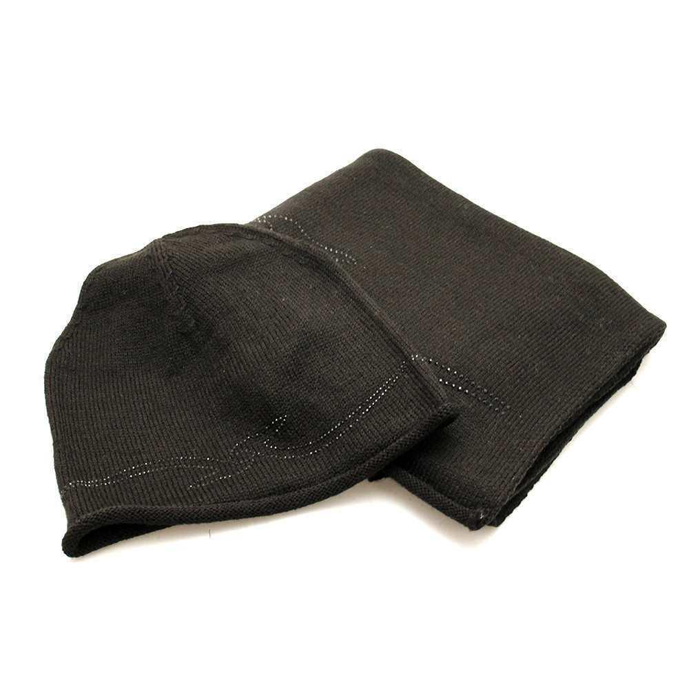Genuine TRUSSARDI JEANS accessories Black Strass Wool mix - 59Y000049Y099997K299