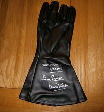 Darth Vader Worn glove Star Wars hand signed by Dave Prowse COA UACC Dealer
