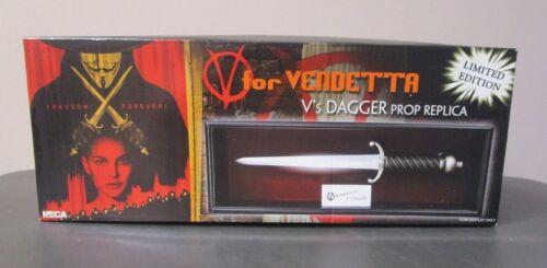 V/'s Dagger Prop Replica V FOR VENDETTA NECA Limited Edition //1500