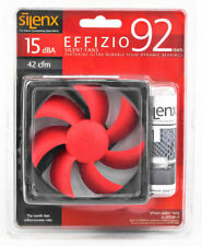 Silenx EFX-09-15 Effizio 92x25mm 15dBA 46CFM PC Computer Case Fan NEW