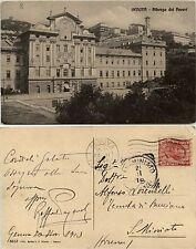Genova, Albergo dei Poveri, veduta completa, viaggiata 1913