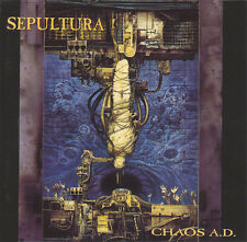 Sepultura - Chaos a.d.  / ROADRUNNER CD 1993 (RR 9000-2)