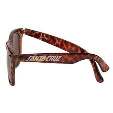Santa Cruz STRIP SHADES Wayfarer Style Skateboard Sunglasses TORTOISE