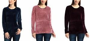Orvis-Ladies-039-Chenille-Sweater-NWT-Variety