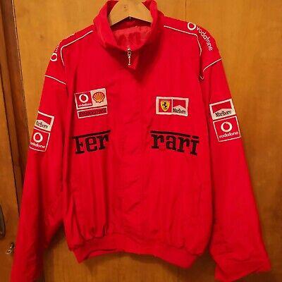 Rare Vintage Ferrari Michael Schumacher Marlboro Jacket Race Size Xxl Racing Ebay