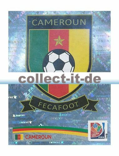 PANINI donne WM World Cup 2015-STICKER 213-logo Camerun