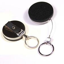 Protec E23 retractable handcuff key reel key ring with nylon coated kevlar cord