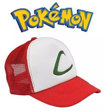 Pokemon Ash Ketchum Mesh Baseball Cap Adjustable Hat Anime Cosplay US Seller