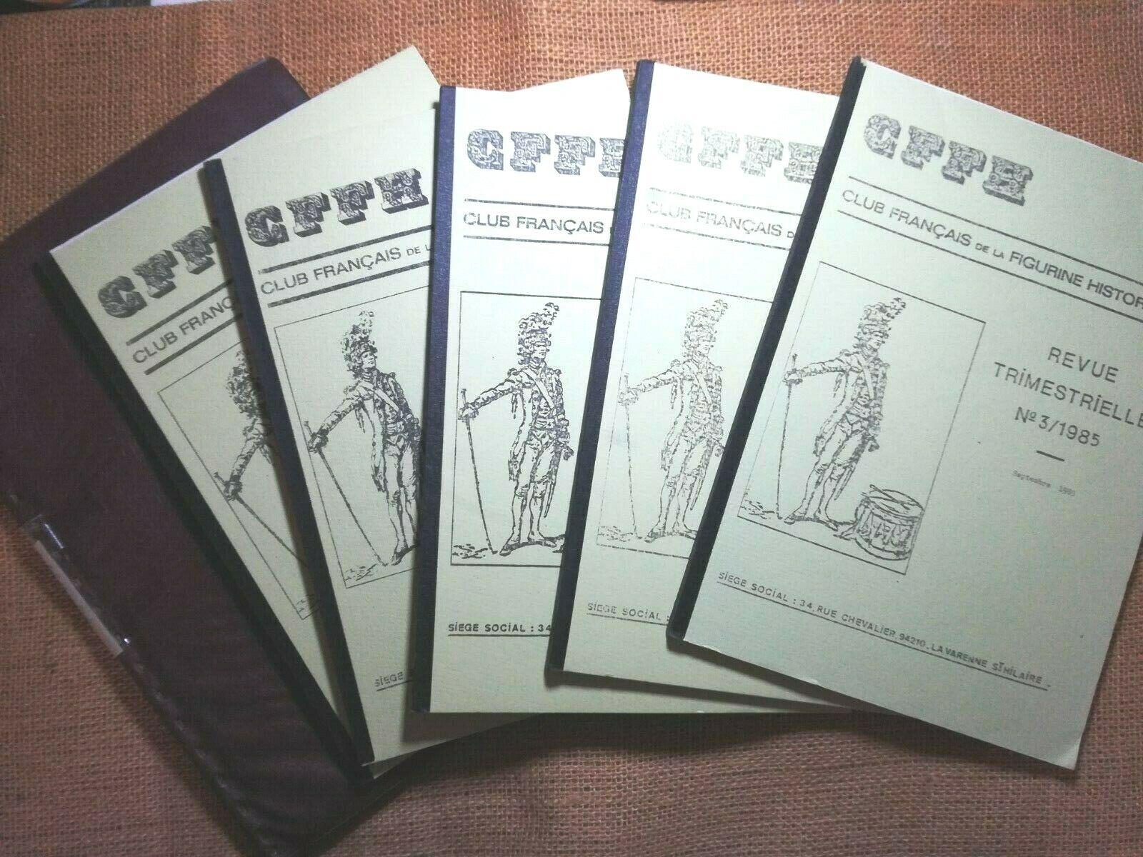 EMPIRE Lot 5 revues  Club Français de la Figurine Historique  + pochette - 6373
