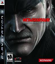 Metal Gear Solid 4: Guns Of The Patriots  - Sony Playstation 3 Game