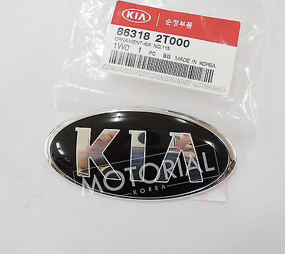 KIA Logo Rear Trunk Emblem Badge for Kia Optima Forte//Koup Rio Rondo OEM Parts Hyundai KIA Mobis