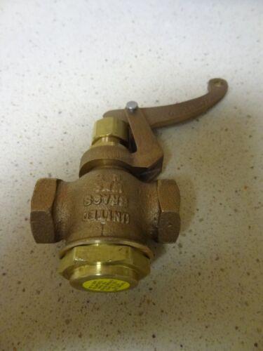 """NEW United Brass Whistle Valve 3//4/"""" for Live Steam Boiler"""