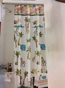 Ordinaire Image Is Loading Saturday Knight Safari Palm Trees Hippo Giraffe Monkey