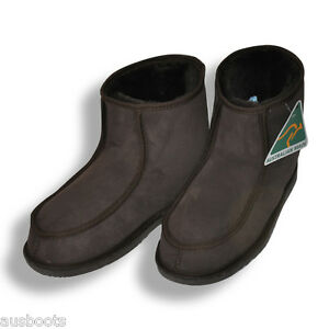 Image is loading Ugg-Mens-Ankle-Ugg-Boots-Made-in-Australia-
