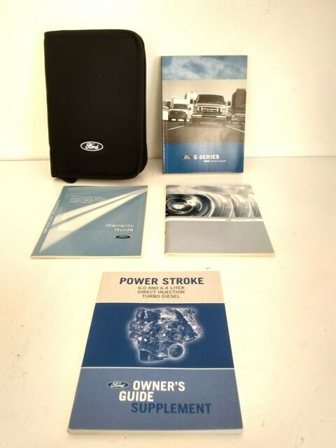 I Have A Ford E Manual Guide