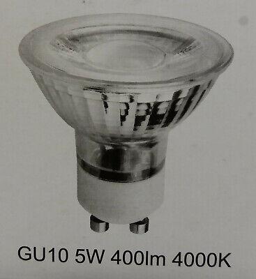 lámparaeBay LED 4000k 400lm gu10 neutro cob 9x spot instalación 5w blanco bombillas para 4L3AjR5