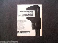 P560 - Advertising Pubblicità -1973- RICAMBI INNOCENTI MINI AUSTIN LEYLAND