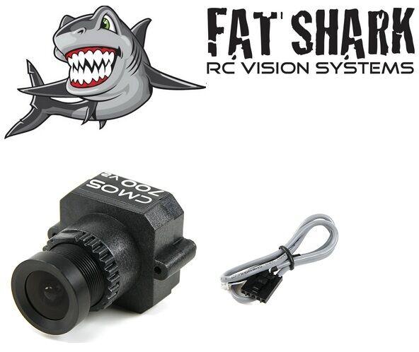 FatShark PilotCam 700TVL Wide Angle FPV Camera V2 CMOS NTSC PAL RC Plane Drone