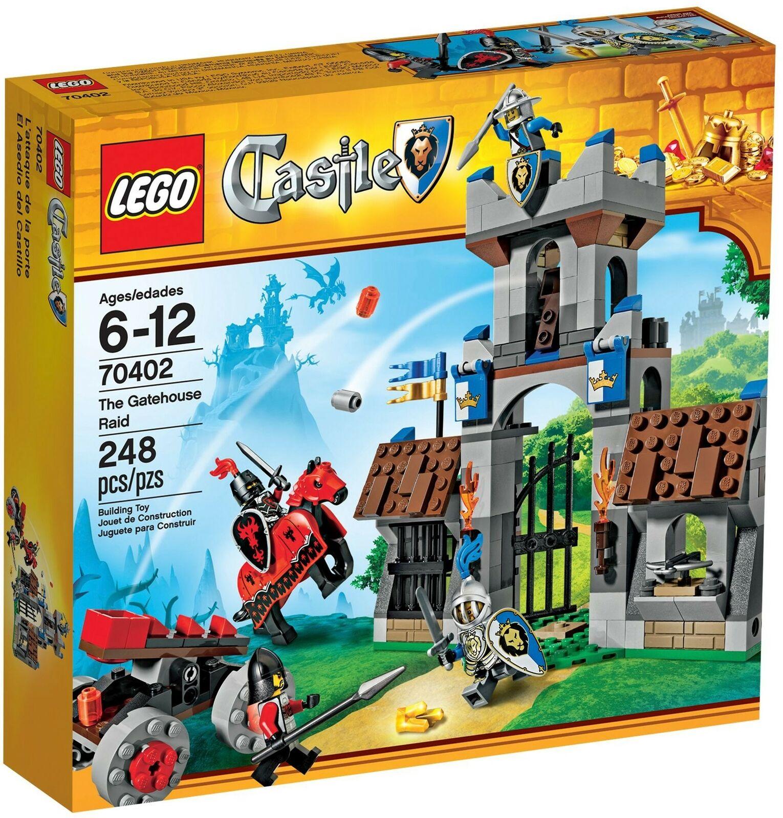 Nuevo castillo lego 70402 allanamientos.
