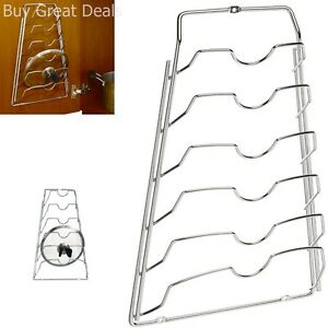 Organize It All Cabinet Door Lid Rack by Organize It All