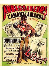 CP Poster Paris Ambassadors Amant D'Amanda Edit Nugeron N3
