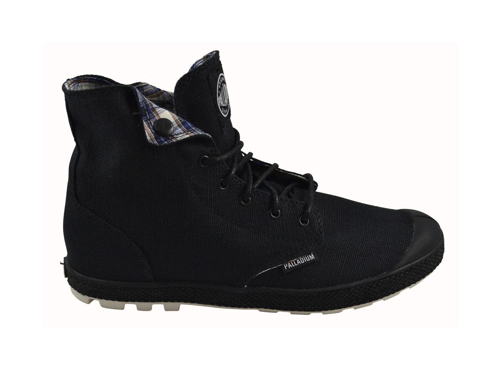 Palladium Slim Snaps schwarz off Weiß Schuhe Turnschuhe schwarz Größenauswahl
