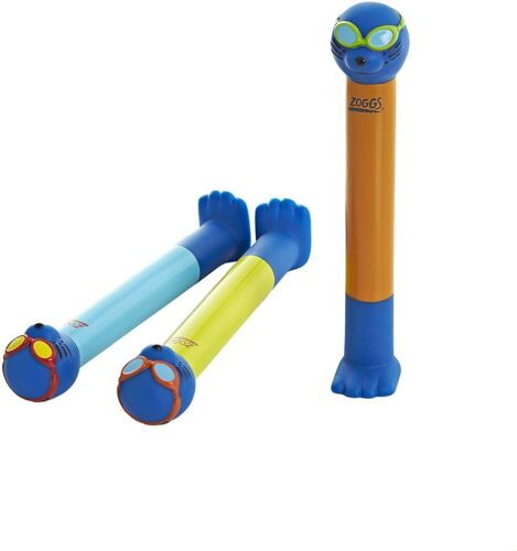 Zoggs Children/'s Zoggy Sinking Dive Sticks Pool Toy and Game