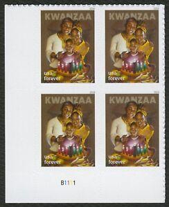#5337 Kwanzaa, Placa Bloque [B1111 Ll ], Nuevo Cualquier 5=