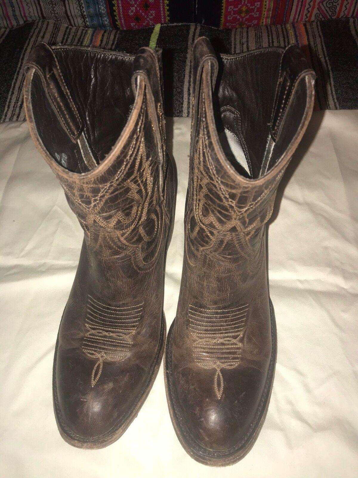 Old gringo donna western ankle stivali Marronee Dimensione 36 1 2