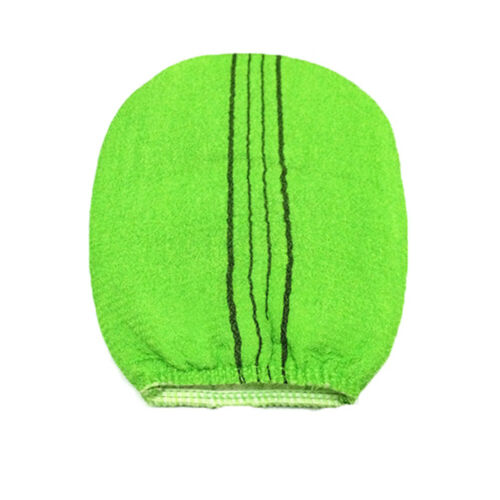 Korean Italy Exfoliating Body-Scrub Glove Towel Green Red  zyPLCA