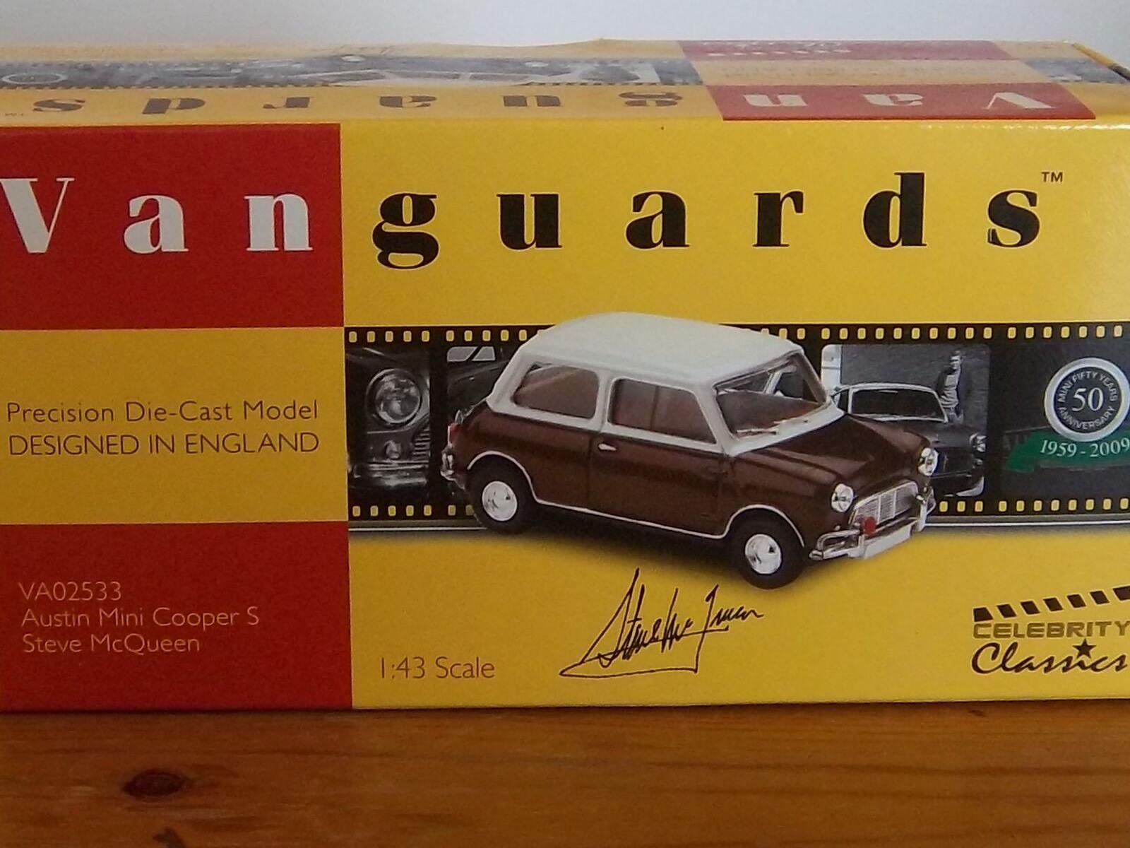 Vanguards 1 43 VA02533 Morris Mini Cooper S Steve McQueen Limited Edition